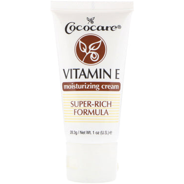 Cococare Vitamin E Moisturizing Cream 1 oz (28.3 g)