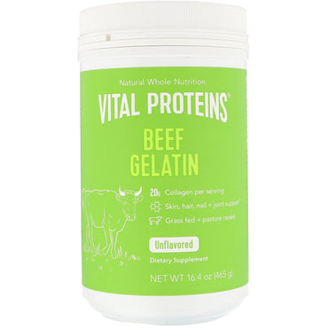 Vital Proteins Beef Gelatin Unflavored 16.4 oz (465 g)