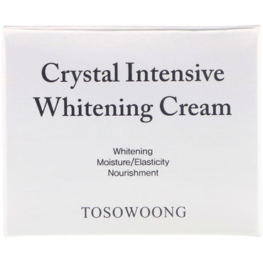 Tosowoong, Crystal Intensive Whitening Cream, 50 g