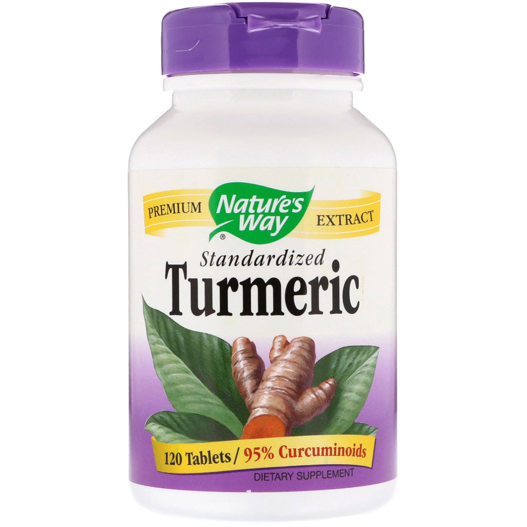 Nature's Way, Turmeric, Standardized, 120 Tablets