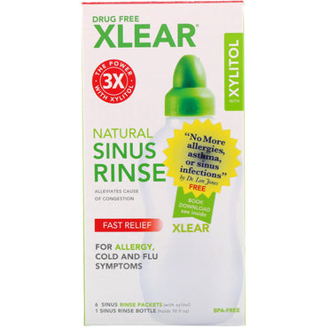 Xlear Natural Sinus Rinse with Xylitol 1 Kit