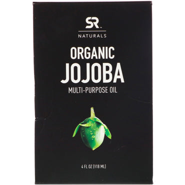 Sports Research, Organic Jojoba Multi-Purpose Oil, 4 fl oz (118 ml)