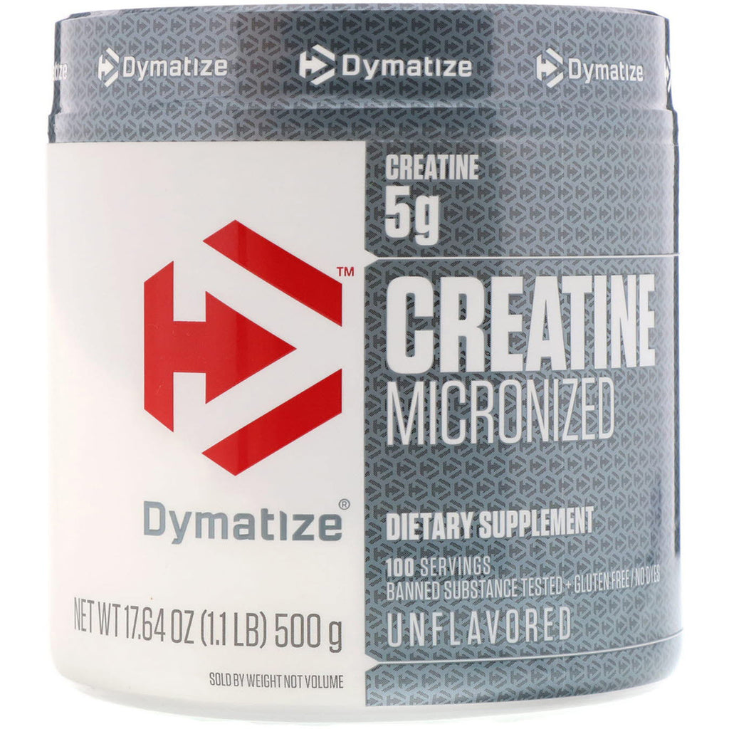 Dymatize Nutrition, Creatine Micronized, 17.64 oz (500 g)