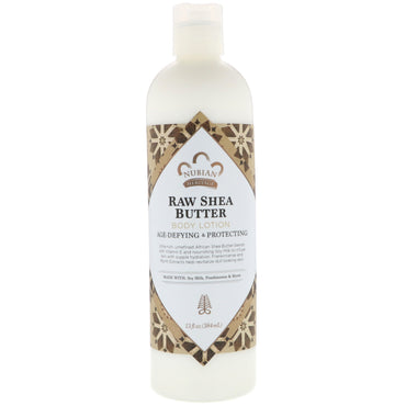 Nubian Heritage, Body Lotion, Raw Shea Butter, 13 fl oz (384 ml)