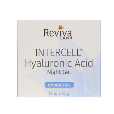 Reviva Labs, InterCell, Hyaluronic Acid Night Gel, Hydrating, 1.5 oz (42 g)