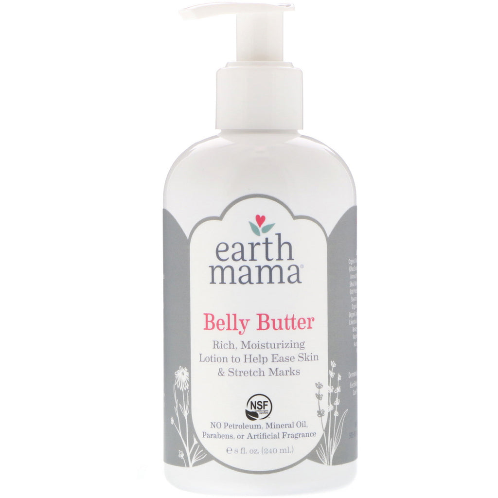 Earth Mama Belly Butter 8 fl oz (240 ml)
