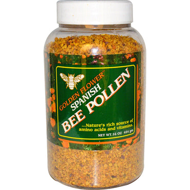 Golden Flower, Spanish Bee Pollen, 16 oz (454 g)