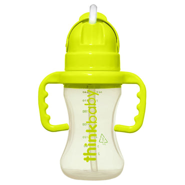 Think, Thinkbaby, Thinkster Straw Bottle, Stage D, Green