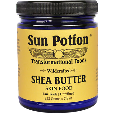 Sun Potion, Shea Butter Wildcrafted in Ghana, 7.8 oz (222 g)