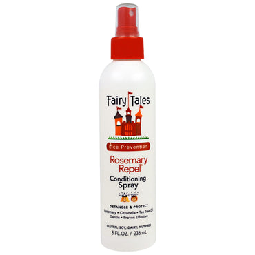 Fairy Tales, Rosemary Repel, Lice Prevention, 8 fl oz (236 ml)