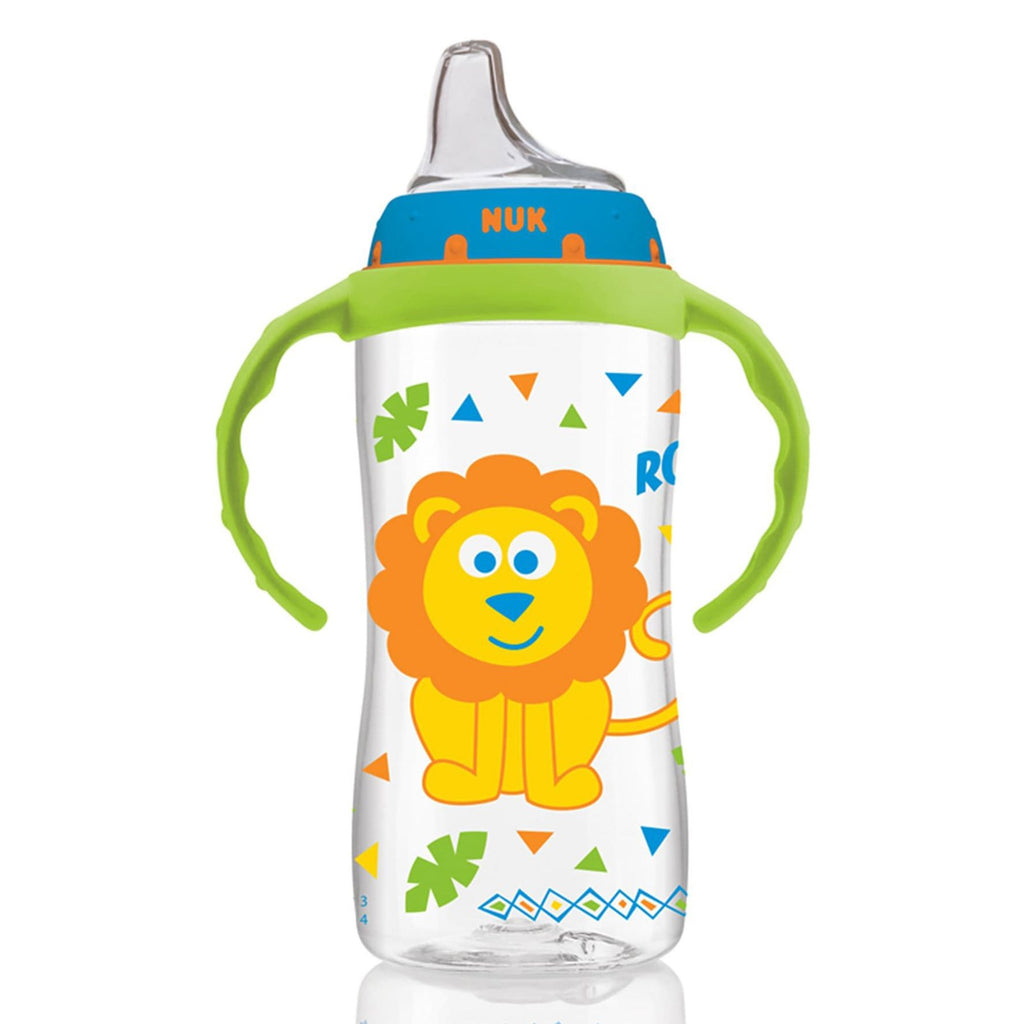 NUK, Large Learner Cup, 9+ Months, Jungle Boy, 1 Cup, 10 oz (300 ml)