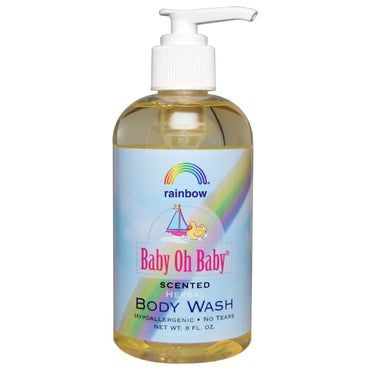 Rainbow Research Baby Oh Baby Herbal Body Wash Scented 8 fl oz