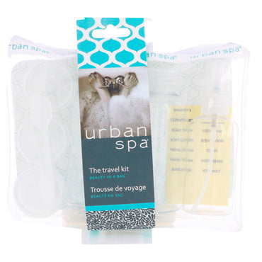European Soaps, LLC, Urban Spa, The Travel Kit, 7 Piece Kit