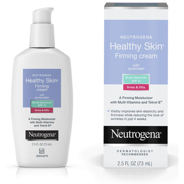 Neutrogena, Healthy Skin, Firming Cream with Sunscreen, SPF 15, 2.5 fl oz (73 ml)