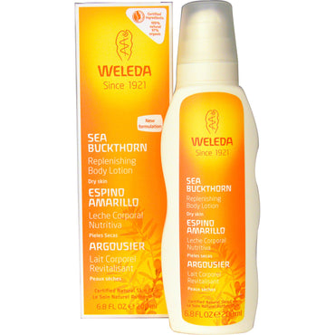 Weleda, Replenishing Body Lotion, Sea Buckthorn, 6.8 fl oz (200 ml)