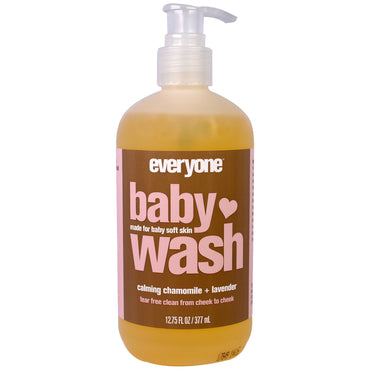 Everyone Baby Wash Calming Chamomile and Lavender 12.75 (377 ml)
