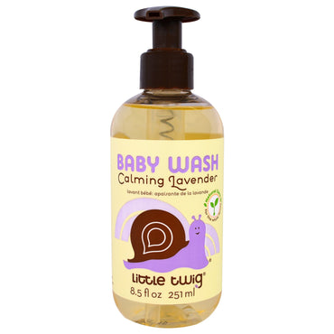 Little Twig Baby Wash Calming Lavender 8.5 fl oz (251 ml)