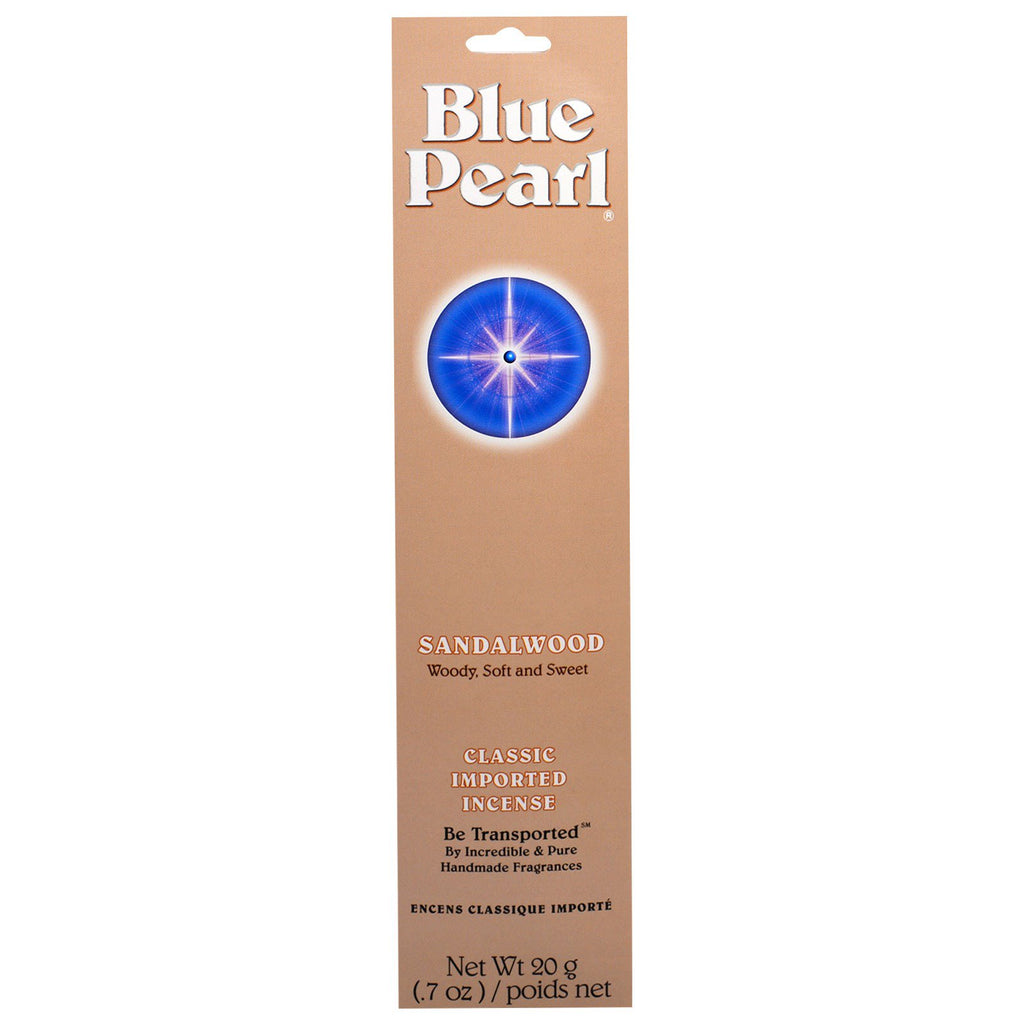Blue Pearl, Classic Imported Incense, Sandalwood, 0.7 oz (20 g)