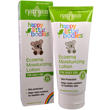 Natralia Happy Little Bodies Eczema Moisturizing Lotion 6 fl oz (175 ml)