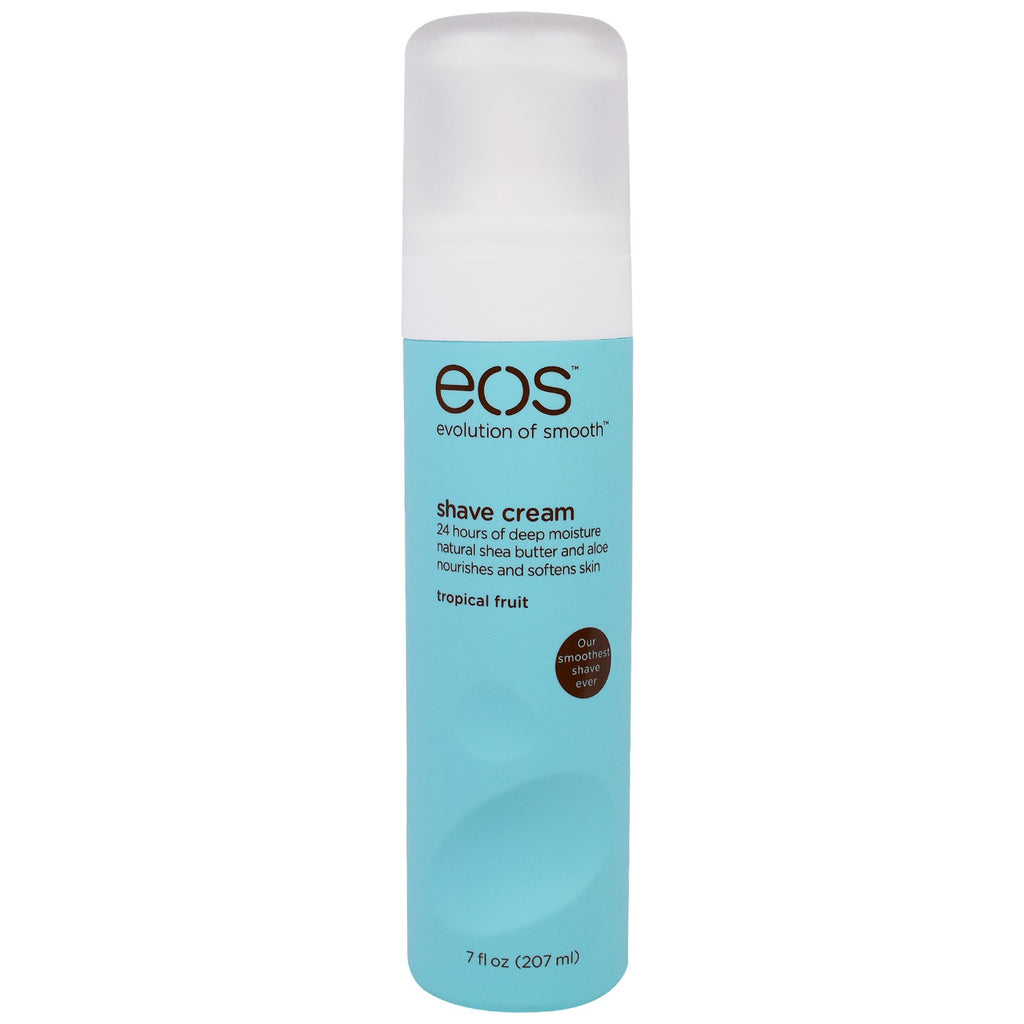 EOS, Shave Cream, Tropical Fruit, 7 fl oz (207 ml)