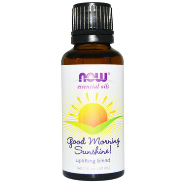 Now Foods Essential Oils Good Morning Sunshine Uplifting Blend 1 fl oz (30 ml)