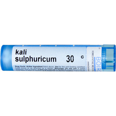 Boiron, Single Remedies, Kali Sulphuricum, 30C, Approx 80 Pellets
