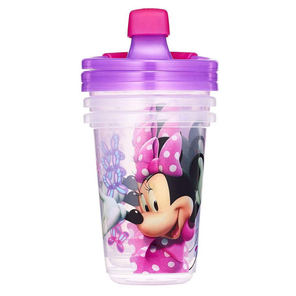 The First Years, Disney Minnie Mouse, Sippy Cups, 9+ Months, 3 Pack - 10 oz (296 ml)