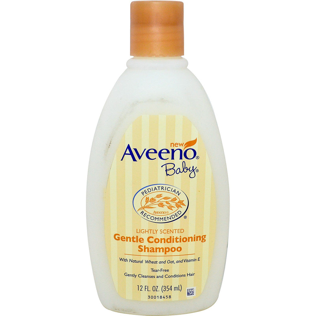 Aveeno Baby Gentle Conditioning Shampoo Lightly Scented 12 fl oz (354 ml)