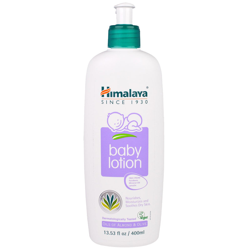 Himalaya Baby Lotion Oils of Almond & Olive 13.53 fl oz (400 ml)