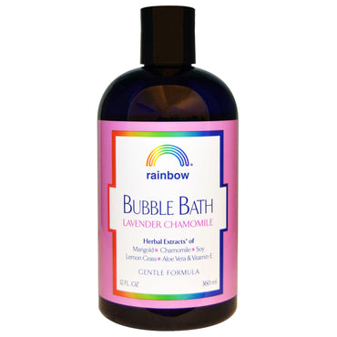 Rainbow Research, Bubble Bath, Lavender Chamomile, Gentle Formula, 12 fl oz (360 ml)