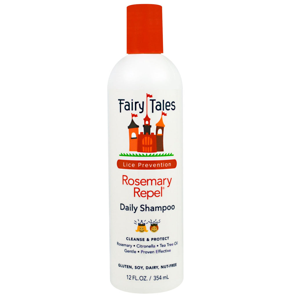 Fairy Tales Rosemary Repel Daily Shampoo Lice Prevention 12 fl oz (354 ml)