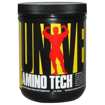 Universal Nutrition, Amino Tech, 375 Tablets