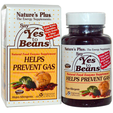 Nature's Plus, Say Yes to Beans, 60 Veggie Caps