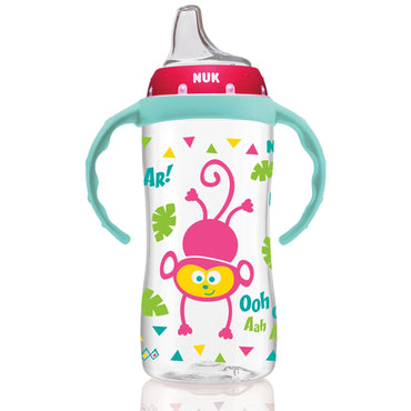 NUK, Large Learner Cup, 9+ Months, Jungle Girl, 1 Cup, 10 oz (300 ml)