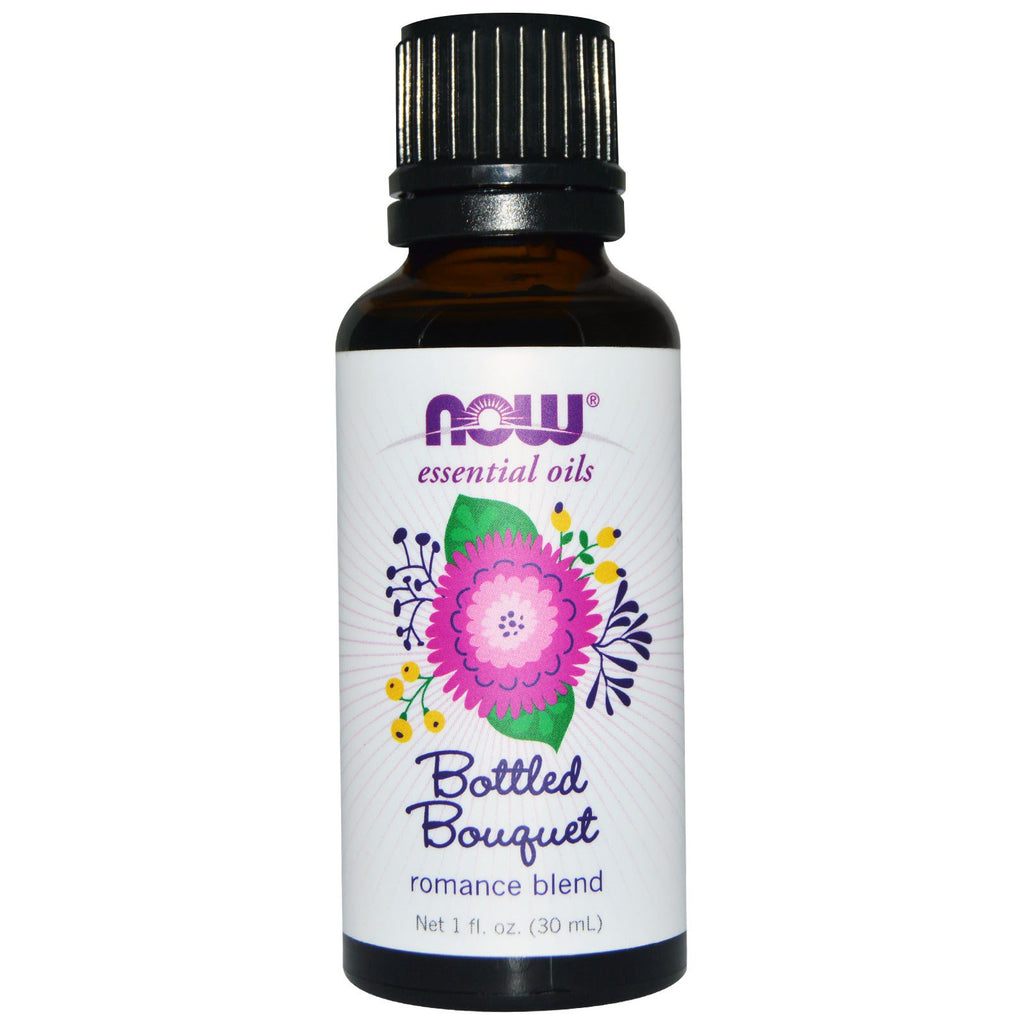 Now Foods Essential Oils Bottled Bouquet Romance Blend 1 fl oz (30 ml)