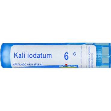Boiron, Single Remedies, Kali Iodatum, 6C, 80 Pellets