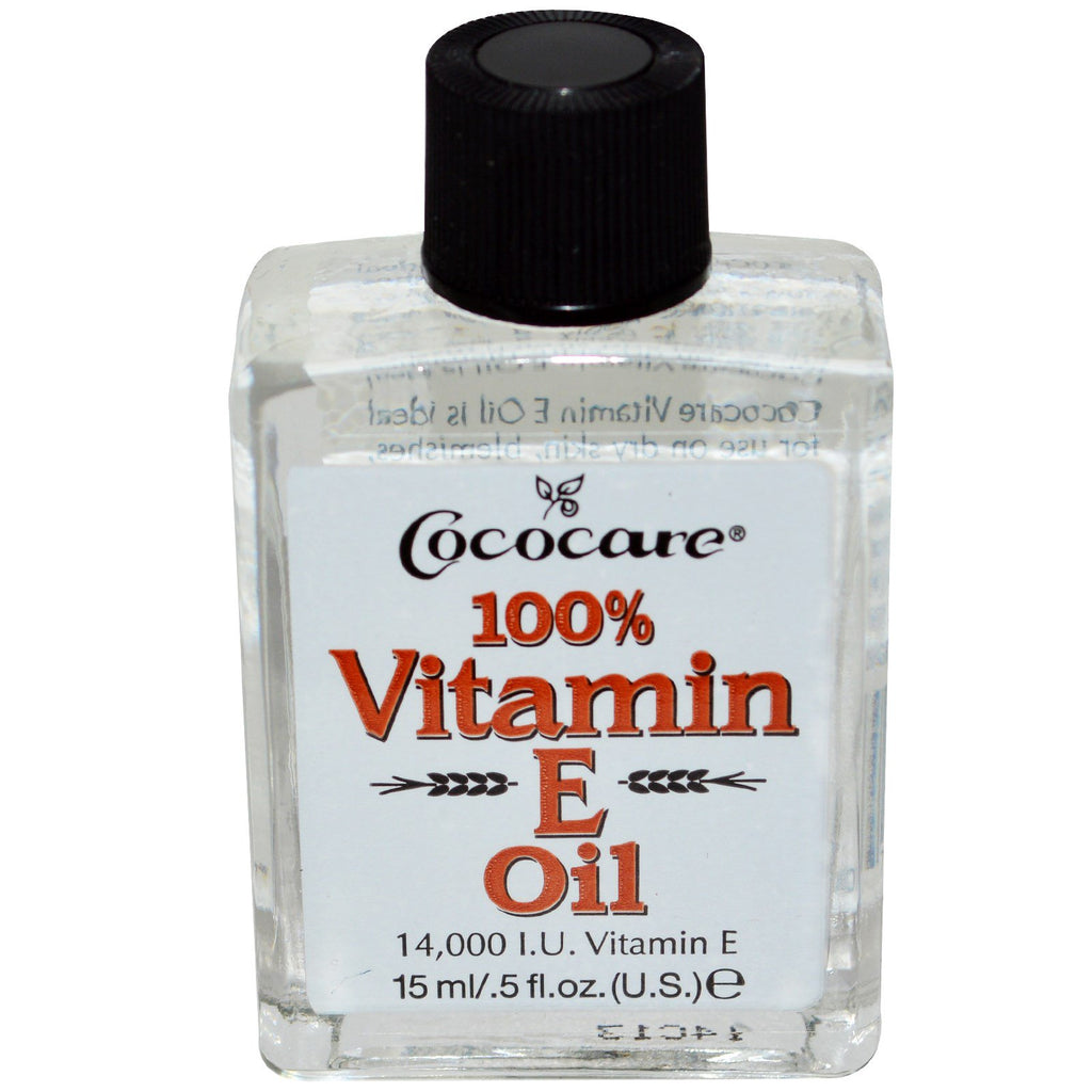 Cococare 100% Vitamin E Oil .5 fl oz (15 ml)