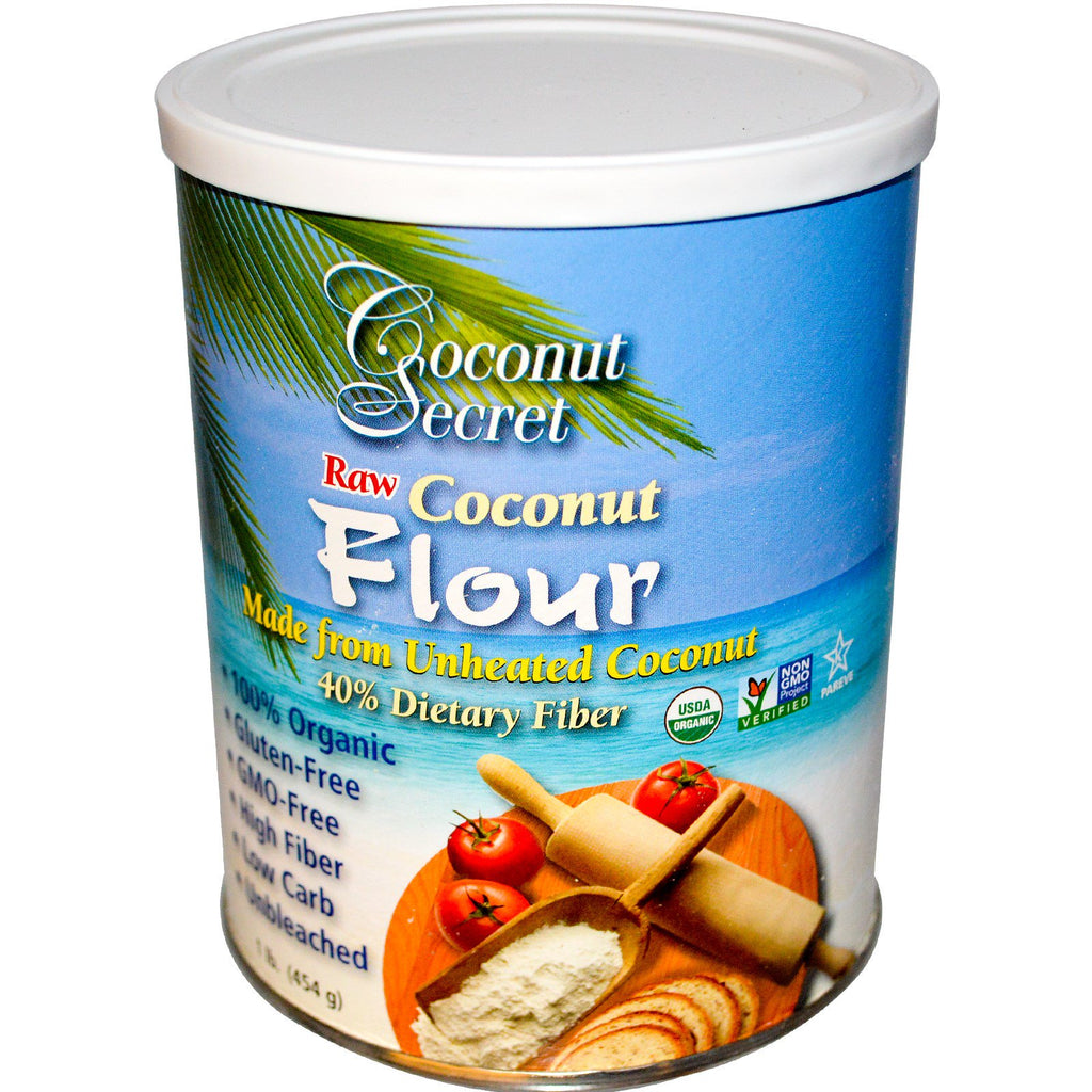 Coconut Secret, Raw Coconut Flour, 1 lb (454 g)