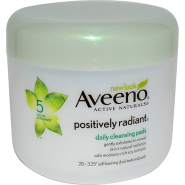 Aveeno, Positively Radiant, Daily Cleansing Pads, 28 Pads
