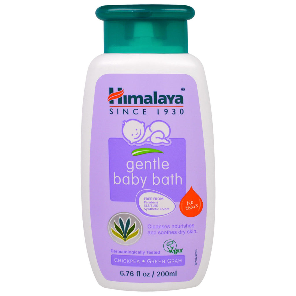 Himalaya Gentle Baby Bath Chickpea and Green Gram 6.76 fl oz (200 ml)