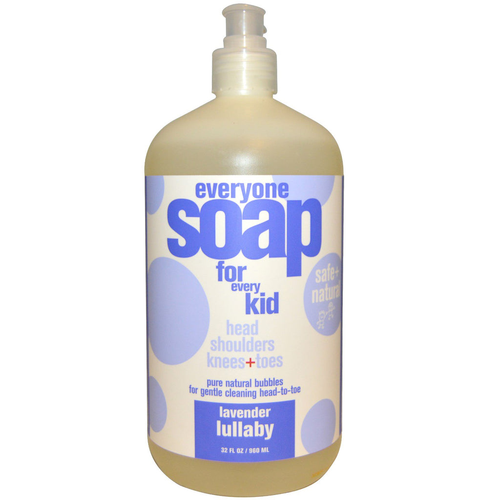 EO Products, Everyone Soap for Every Kid, Lavender Lullaby, 32 fl oz (960 ml)
