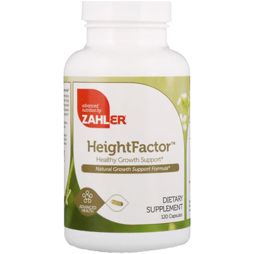 Zahler, Height Factor, Healthy Growth Support, 120 Capsules