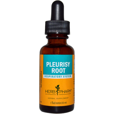 Herb Pharm, Pleurisy Root, 1 fl oz (30 ml)