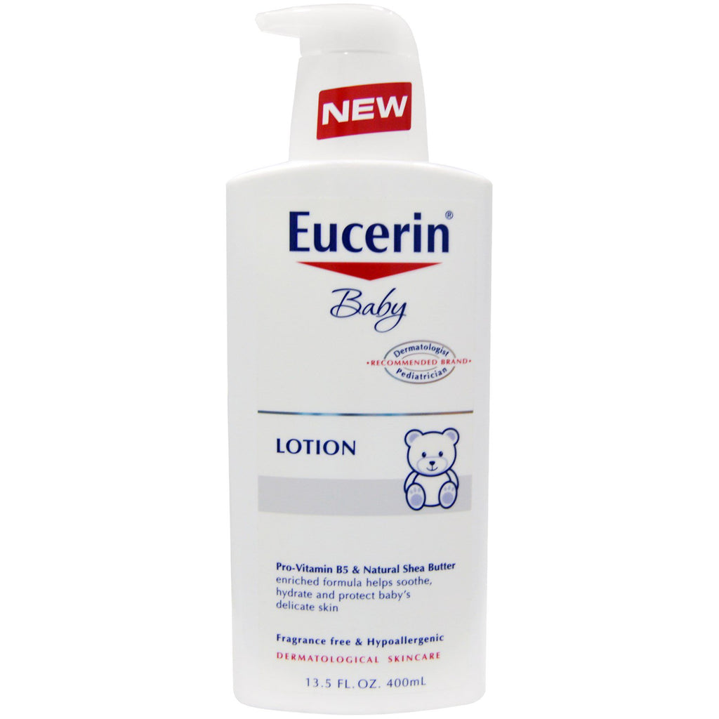 Eucerin Baby Lotion Fragrance Free 13.5 fl oz (400 ml)