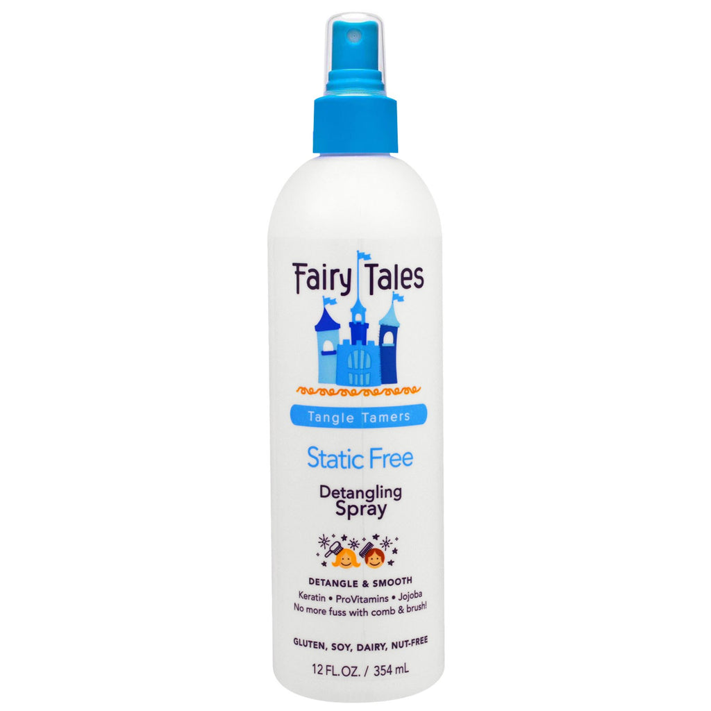Fairy Tales, Detangling Spray, Static Free, Tangle Tamers, 12 fl oz (354 ml)