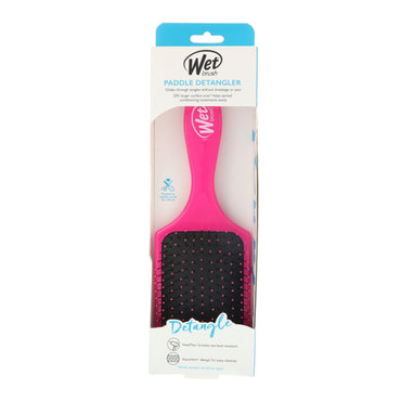 Wet Brush, Paddle Detangler Brush, Pink, 1 Brush
