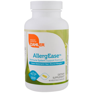 Zahler AllergEase Immune System Support Formula 90 Vegetable Capsules