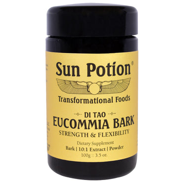 Sun Potion, Eucommia Bark Powder, Wildcrafted, 3.5 oz (100 g)