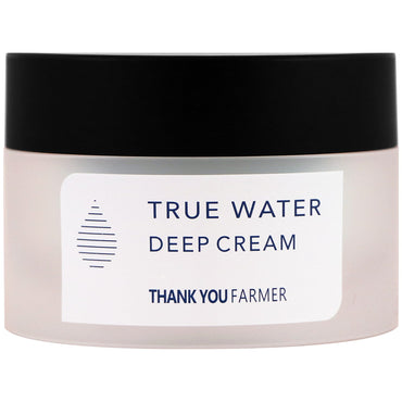 Thank You Farmer, True Water, Deep Cream, 1.75 fl oz (50 ml)