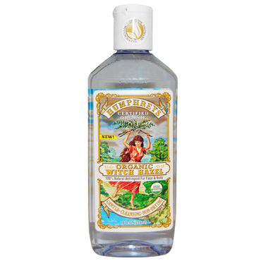 Humphrey's, Certified Organic Witch Hazel, 8 fl oz (237 ml)